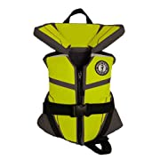 Mustang Survival Lil' Legends 100 Infant Vest - 0-30lbs - Gray/Flourescent Yellow/Green MV3250-256