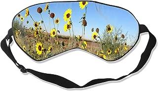 Sleep Mask Tumblr Sunflower Eye Mask Cover With Adjustable Strap Eyepatch For Travel, Nap, Meditation, Blindfold