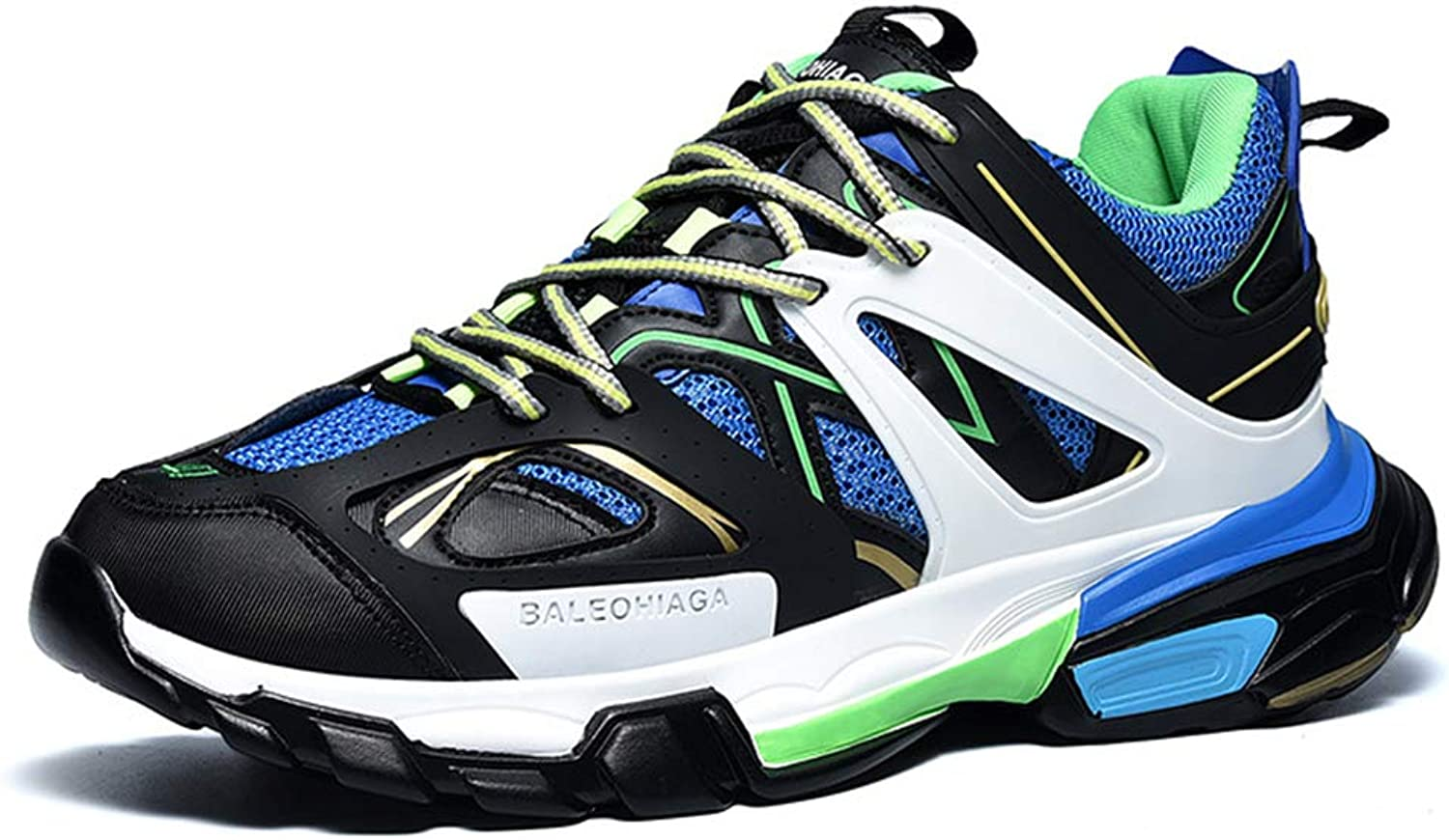 LH Men's sports outdoor casual running shoes, non-slip wear-resistant and shockproof comfortable trend shoes,41