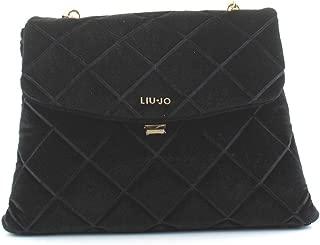 Luxury Fashion   Liu Jo Womens N69048T909322222 Black Handbag   Fall Winter 19