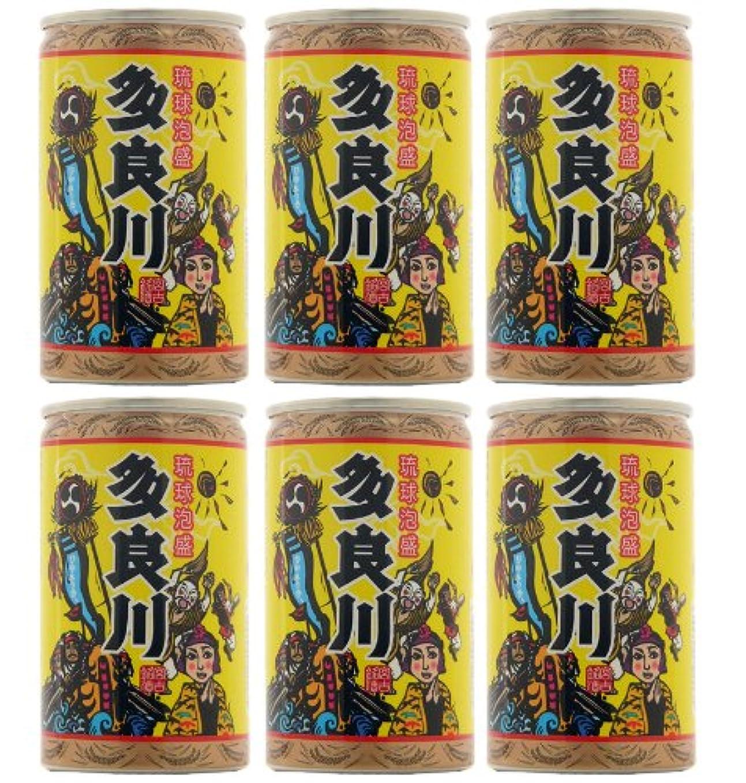 十分ロードハウス報いる泡盛 多良川 飲みごろひやさっさ~×6缶 12度 180ml×6本