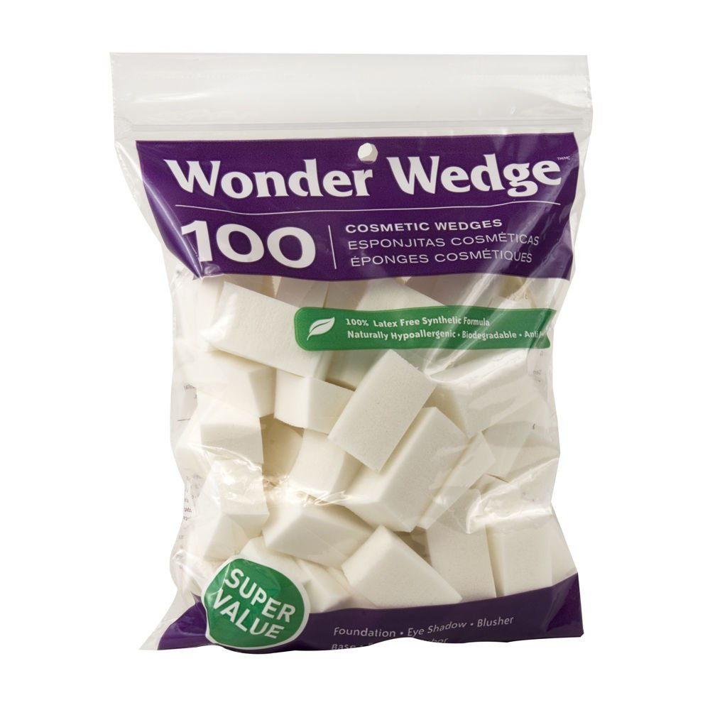 Wonder Wedge Cosmetic Wedge 100's : Facial Cleansing Cloths And Towelettes : Beauty