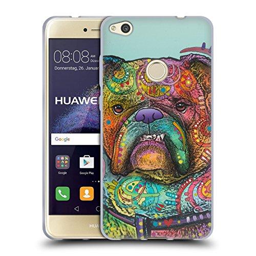 Head Case Designs Licenciado Oficialmente Dean Russo Vinny Perros 3 Carcasa de Gel de Silicona Compatible con Huawei P8 Lite (2017)