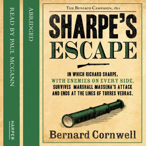 Sharpe's Escape audiobook cover art