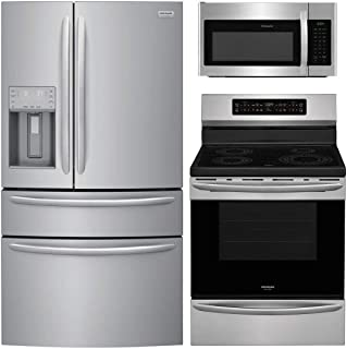 Frigidaire 3 Piece Kitchen Appliance Package with FG4H2272UF 36
