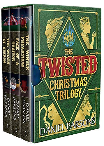 The Twisted Christmas Trilogy (Complete Series: Books 1-3): A Dark Fantasy Boxed Set