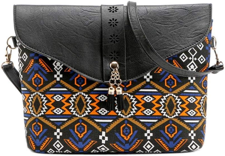 OYCC Damen Handtasche Mode Blaumendruck Damen Damen Damen Tasche Schulter Crossbody Tasche B07QG74GPF  Prägnante Einfachheit 637a00