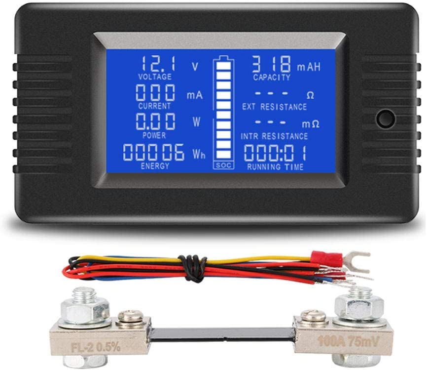 DollaTek LCD Display DC Battery 0-200V Voltmeter Meter Monitor Same day shipping A High quality