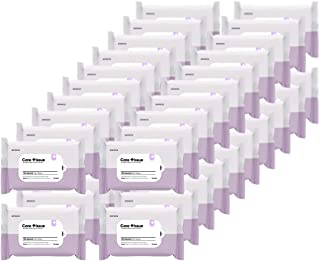 Homewell Care Tissue Hand Sanitizing Wet Wipes 75% Alcohol, 40-Pack