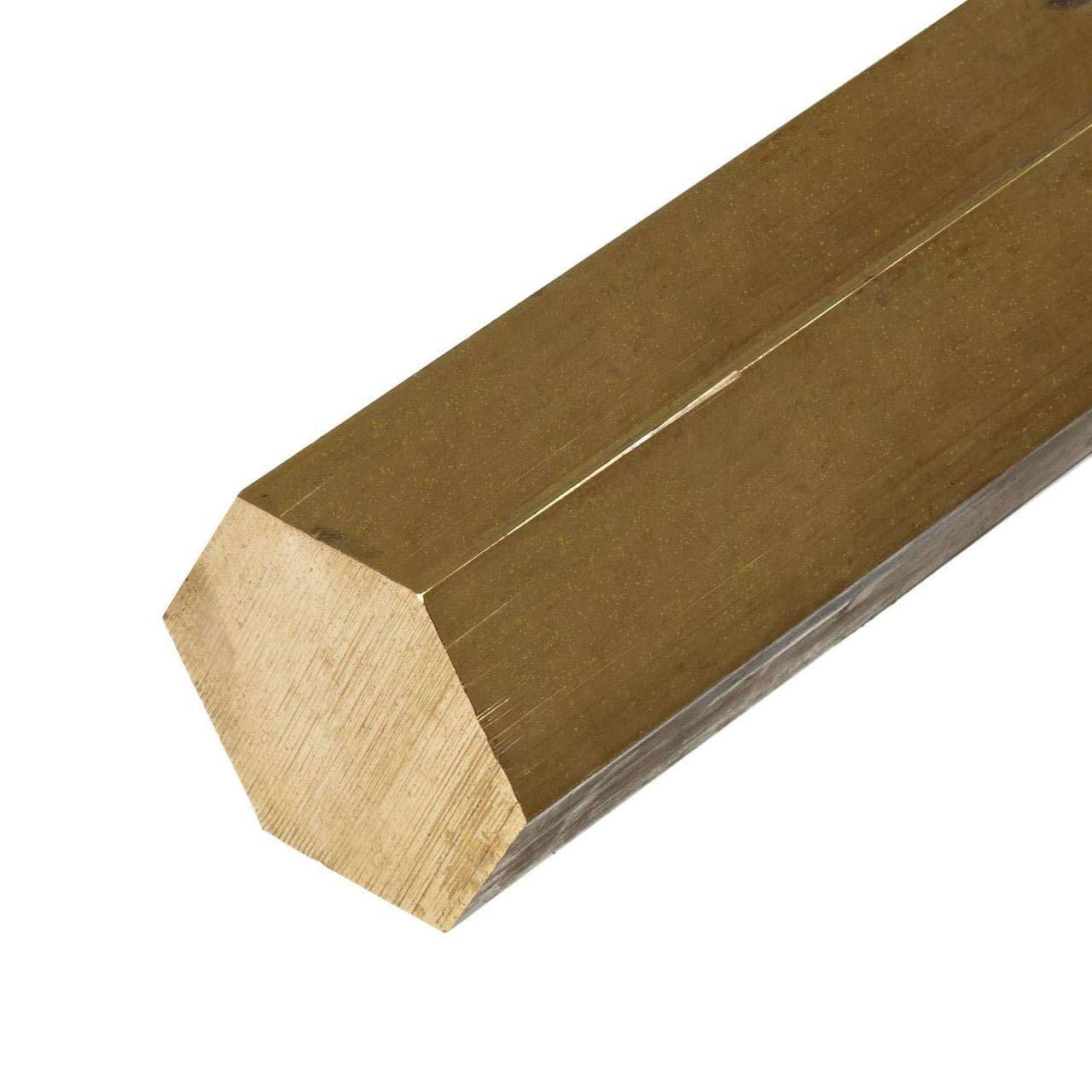 Online Metal Supply Be super welcome Max 55% OFF C360 Brass Hexagon Bar 0.375 inch x 3 1 8