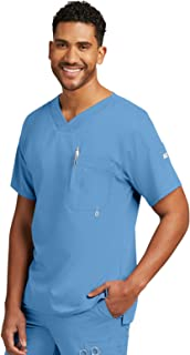 Grey's Anatomy Men's 0107 Modern Fit V-Neck Scrub Top