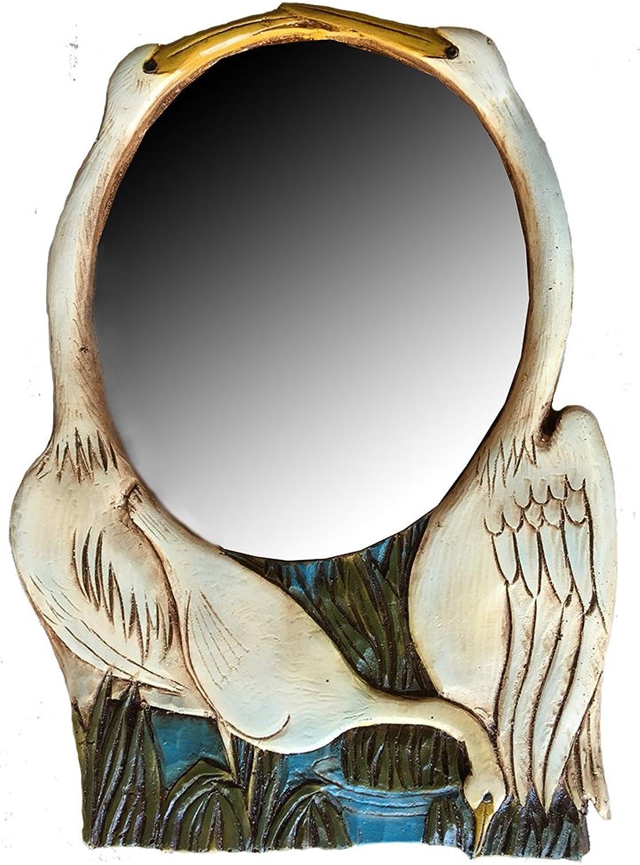 Piazza Pisano Heron Wall Mirror