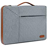 13-14 Inch Laptop Sleeve Case Waterproof 360 Protective Laptop Sleeve Bag Work Business Computer Case for 13 Inch MacBook Air/Pro Notebook Portable Handle Laptop Bag,Space Grey