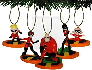 Pixar's The Incredibles Family 5 Pc. Ornaments Set
