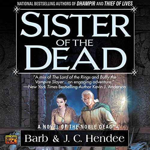 Sister of the Dead audiobook cover art