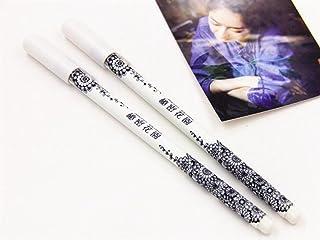 Royare of School Supplies 4Pcs/Set Secret Garden Gel Pen Kit Simple Signing Pen Student Stationery Reward (S6167)