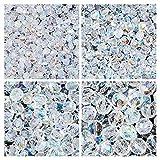 Cuentas de vidrio checas Fire-Polishedº son redondo. Set 1CFP 001: cuatro tamaños - 3 mm, 4 mm, 8 mm, una colores – Crystal AB. Total de 275 perlas.
