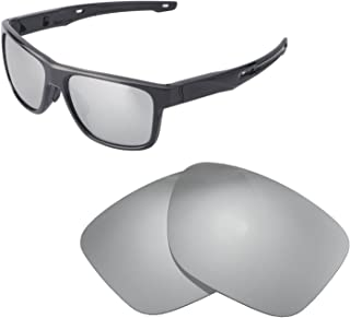 Walleva Replacement Lenses for Oakley Crossrange Sunglasses - Multiple Options Available