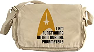 b619fc301637 CafePress - Star Trek - Normal Parameters - Unique Messenger Bag