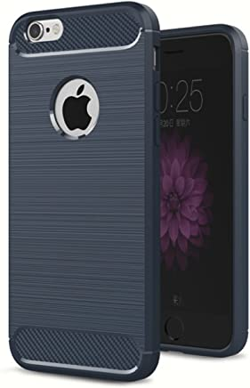 Golden Sand 4.7 inch TPU Phone Armor Case for Apple iPhone 6s / 6 (Metallic Blue)