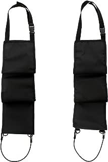 Concealed Seat Back Gun Rack Sling Pair – Storage Organizer for 3 Hunting Rifles/Shotguns in Car, Truck, SUV