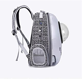 Cat Dog Carrier Backpack Transparent Pet Bag Out Portable Breathable Pet Space Bag Pet Backpack Soft-Sided Carriers Pet Tr...