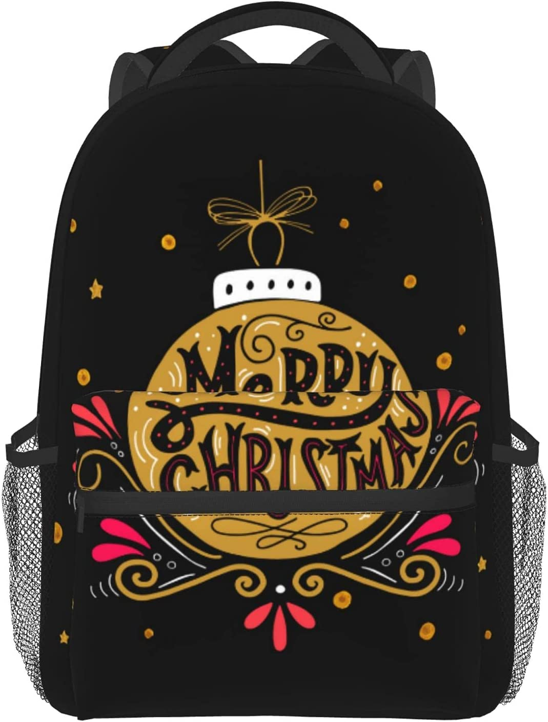 Christmas Bell OFFer Bag Waterproof Student Ext 35% OFF Backpack Laptop Casual