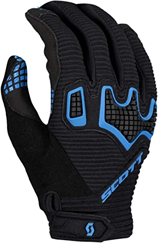 Scott 2019 Superstitious DH Gants de vélo Longs Noir Bleu