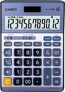 Casio DF120TER Desk Calculator- Silver