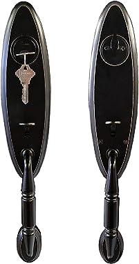 Lex by Constructor Oil Rubbed Bronze Finish Elite Door Lock Entry Lever Double Handle Set CON-LEX-ORB