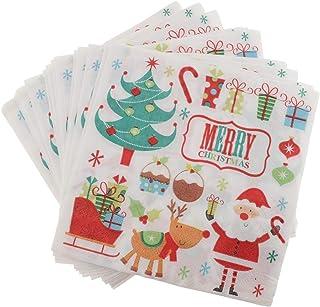 LUXURY CHRISTMAS PAPER NAPKINS-High Quality Serviettes-Xmas Party//Festive Buffet