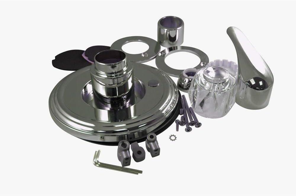 1-Handle Universal Valve Trim Kit for Memphis Mall Delta in Brushed Nickel Manufacturer OFFicial shop