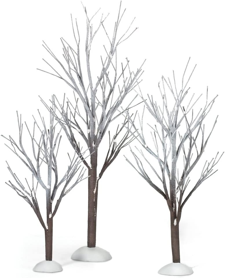 Many Ranking TOP2 popular brands Department 56 Snow Village First 3 Trees Set of Frost