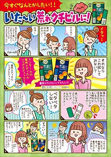 近江兄弟社メンターム『薬用メディカルリップスティックMn』