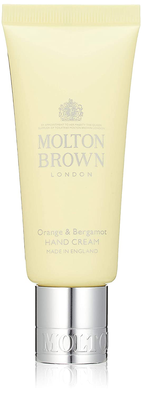 毎週日付付き強調MOLTON BROWN(モルトンブラウン) オレンジ&ベルガモット コレクション O&B ハンドクリーム