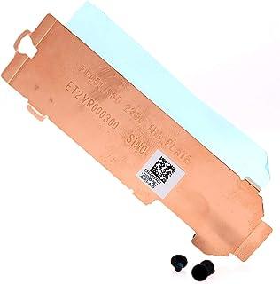 Deal4GO 2nd Second 2280 M.2 SSD ヒートシンク ハードドライブカバー サーマルシールド Dell Alienware M15 R3 R4 M17 R3 R4 ET2VR000300 RT4G1 0RT4G1用