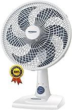 Ventilador De Mesa Parede 30 Cm Silencioso Oscilante 6 Pás 140 Watts Branco 3 Velocidades 127V Econômico Maxi Power Mondial Original