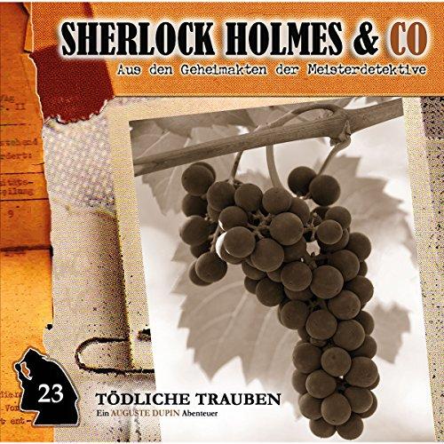Tödliche Trauben     Sherlock Holmes & Co 23              De :                                                                                                                                 Markus Duschek                               Lu par :                                                                                                                                 Martin Kessler,                                                                                        Norbert Langer                      Durée : 1 h et 14 min     Pas de notations     Global 0,0