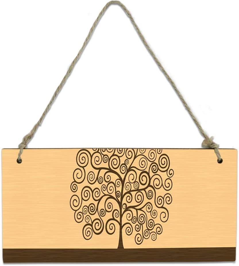 Challenge the lowest price of Japan Wood Plaque Wall Hanging Sign Kitchen Weekly update Bathroom Classic for Life