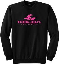 Koloa Surf Co. Soft & Cozy Classic Crewneck Sweatshirts in Sizes S-5XL