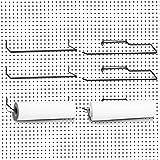 6 Paquetes de Soporte de Toallas de Papel para Tablero de Clavijas Portarrollos...