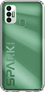 Amagav Soft Silicone Transparent Mobile Back Cover for Tecno Spark 7 & Tecno Spark 7T