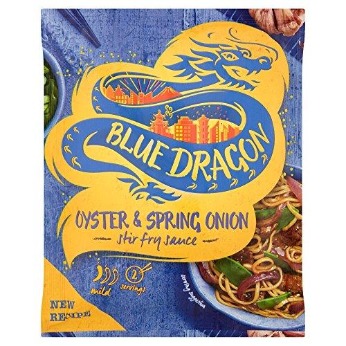 Blue Dragon - Salsa all'ostrica e all'erba cipollina - Salsa per friggere - Ideale per speziare i vostri pasti in stile asiatico - 120 g