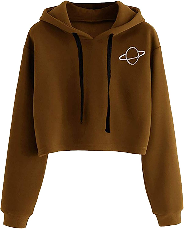 Women Hoodies,Women's Casual Tie Dye Sweatshirt Long Sleeve Crewneck Pullover Tops Loose Soft T-Shirts