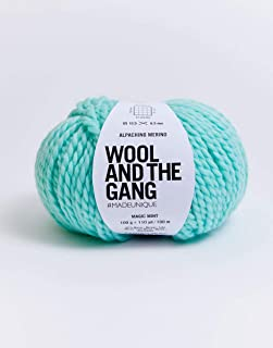 Wool & The Gang - Alpachino Merino Magic Mint