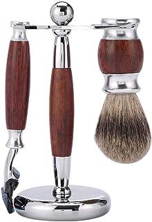 Shaving Set, 1 x Razor, 1 x Razor, 1 x Shaving Brush, 1 x Stand, is the Best Suit for Men's Shaving JONIGE
