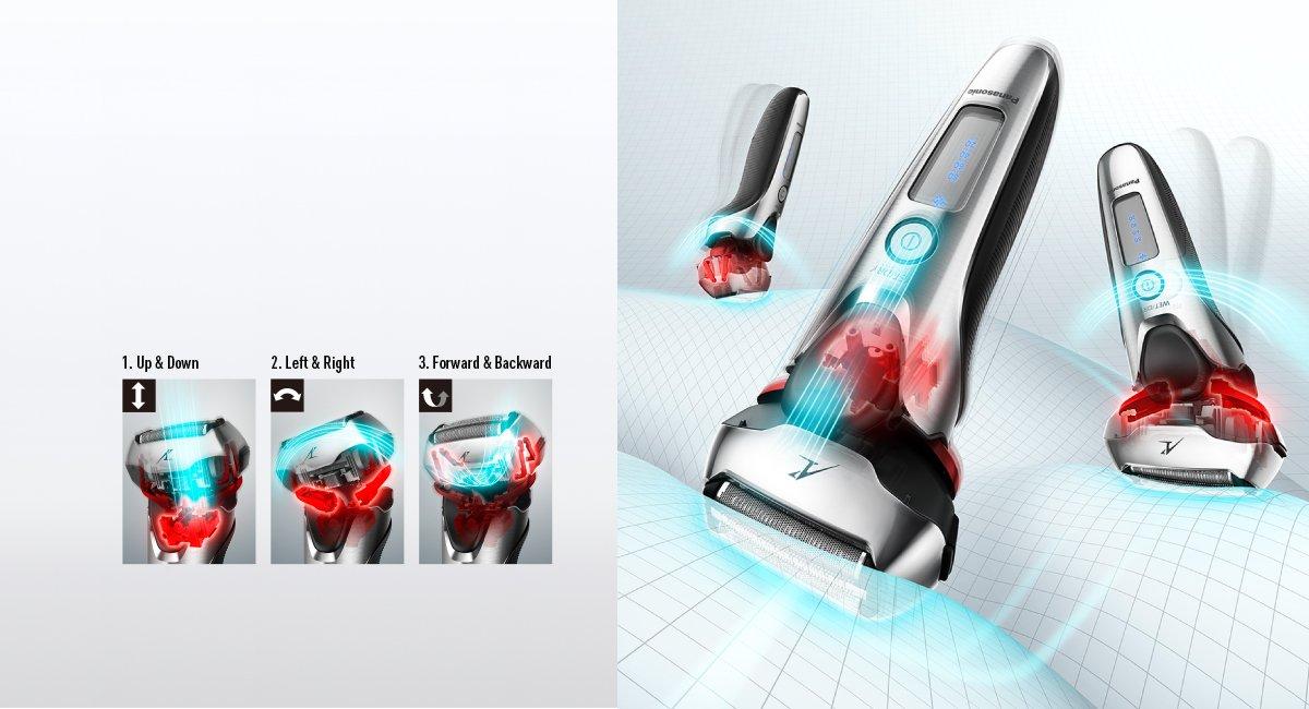 Panasonic ES-LT2N - Afeitadora eléctrica para hombre (3 hojas): Amazon.es: Salud y cuidado personal