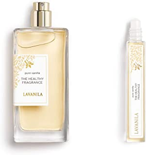 Lavanila - The Healthy Fragrance Clean and Natural, Pure Vanilla Perfume Set for Women (Set of 1, 1.7 oz and 1,10ml Rolle...