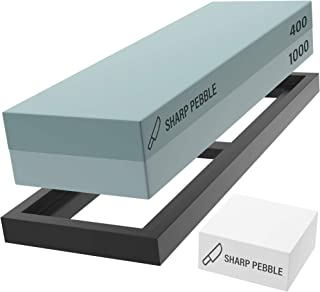 Sharp Pebble Premium Whetstone Sharpening Stone 2 Side Grit 400/1000-Whetstone Knife..