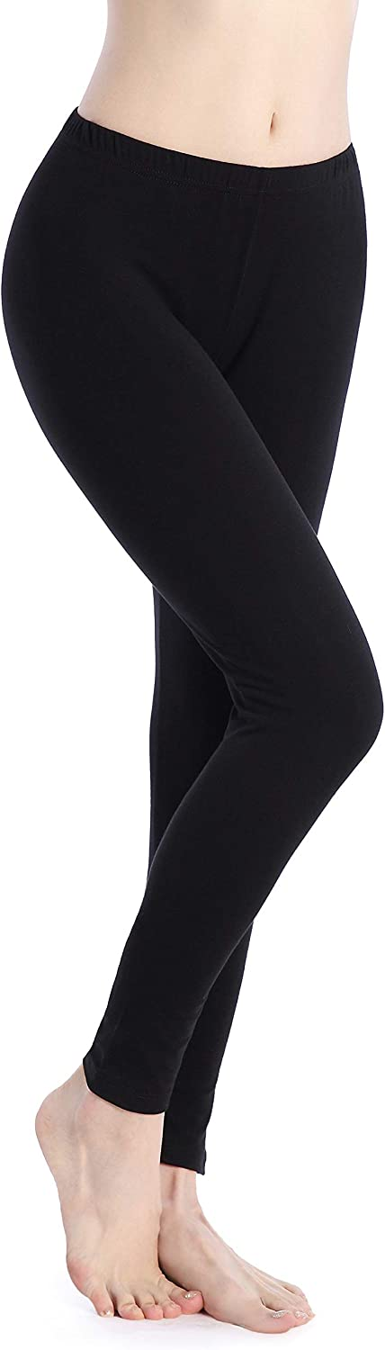 Ferrieswheel Story Women Thin Soft Tight Yoga Pants Super Stretch Ankle Length Leggings Workout